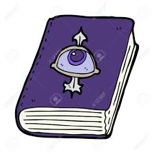 cartoon magic spell book stock vector 29072098