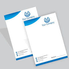 Letterhead Design Online Letterhead Printing Online Pakistan Custom Business Letterhead
