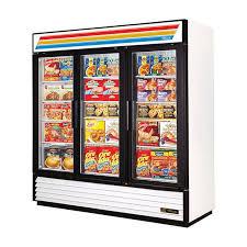 true gdm 72f hc tsl01 78 13 three section display freezer w