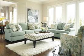 Living Room Sets With Accent Chairs Buy Daystar Seafoam Living Room Set By Signature Design From Www