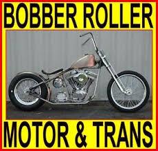 100 motor transmission rigid bobber chopper rolling chassis