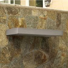 Stainless Floating Shelves Adorable Danver Stainless Steel Floating Wall Shelves KitchenSource