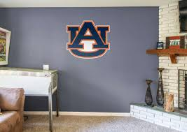 >auburn tigers logo wall decal shop fathead for auburn tigers decor auburn tigers logo fathead wall decal