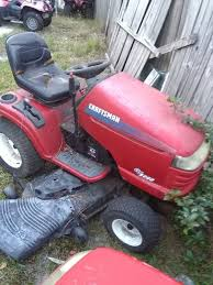 craftsman lawn tractor for in new