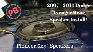 2014 dodge avenger stereo wiring harness 2014 2007 2014 dodge avenger rear deck speaker install on 2014 dodge avenger stereo wiring harness