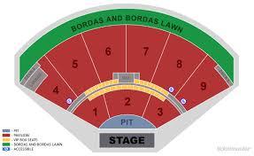 Starlake Amphitheater Seating Chart Valid Star Lake Amphitheater Seating Chart 2019