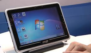 Msi Unveils Windows 7 And Android Tablets Prototype Sketch Pad