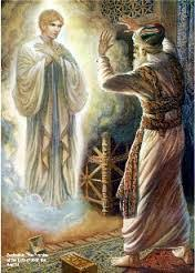 Image result for zechariah and the angel of the lord