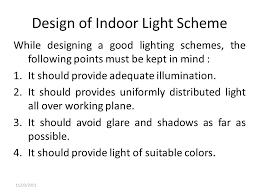 lighting scheme. Design Of Indoor Light Scheme Lighting