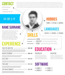 Infographic Resume Examples Infographic Resume Templates 100 Examples To Download Use Now 77