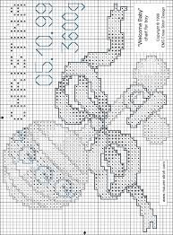 Baby Cross Stitch Patterns Free Printable
