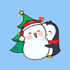 animated christmas penguins. Fine Penguins Merry Christmas PenGuins Animated Stickers And Penguins N