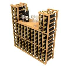 Wine rack table Industrial Stackable Table Top Wine Rack Wayfair Allavino Stackable Table Top 100 Bottle Wood Wine Rack