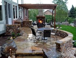Home Accecories:Patio Ideas For Small Gardens Houzz Backyards Simple Garden  Throughout Houzz Backyard Patio
