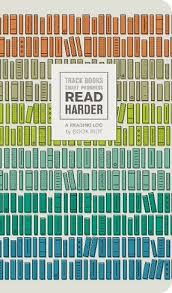 Wh Smith Paperback Chart Read Harder A Reading Log Track Books Chart Progress