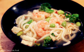 Japanese seafood udon soup recipe