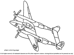 Airplane Coloring Pages Or Airplane Coloring Pages Fresh Planes