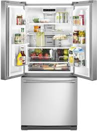 refrigerator 30. maytag mff2055frz - inside are two spill-proof glass shelves, one of which slides refrigerator 30