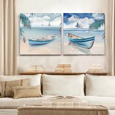 beach office decor. cheap decor buy quality art leather seat cover directly from china room decorations suppliers ships ocean beach landscape painting decorative office