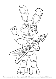 learn how to draw toy bonnie from five nights at freddy s five nights at freddy s step by step drawing tutorials