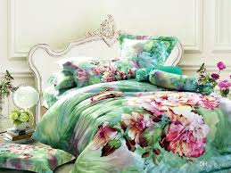 Green Floral Bedding Comforter Set Sets Queen King Size Duvet ... & Green Floral Bedding Comforter Set Sets Queen King Size Duvet Cover  Bedspread Sheets Bed In A Bag Sheet Quilt Linen 100% Cotton Duvet Comforter  Sets Blanket ... Adamdwight.com