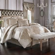 insider j queen bedding la scala fawn medallion comforter by new york