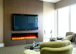 electric fireplace ideas with tv above wall mount fireplace under electric fireplace stand combo wall mount