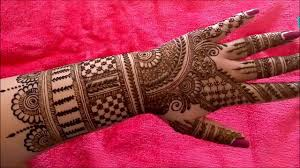 Indian Wedding Henna Designs Indian Henna Designs For Hands Disa