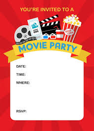 Movie Night Invitation Template Free How To Throw A Fun Backyard Movie Party Today Is Your Birthday