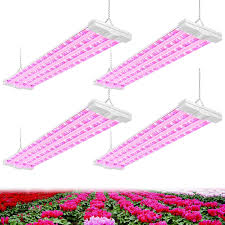 Antlux 4ft Led Grow Light Antlux 4ft Led Grow Plant Lights 80w 600w Equivalent Full Spectrum Integrated Growing Lamp Fixture For Greenhouse Hydroponic Indoor Seedling Veg And