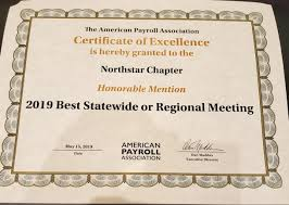 Honorable Mention Certificate 2019 Congress Honorable Mention Statewide Conference Apa