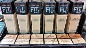 Maybelline Fit Me Colour Chart Maybelline Fit Me Matte Poreless Foundation Review And