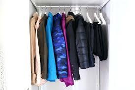 coat closet organized coat closet using the system for storage ada coat closet rod height coat