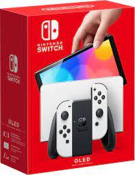 Nintendo Switch (OLED model) w/ White ...