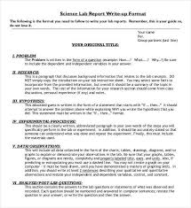 Chemistry Lab Report Templates 3 Free Excel Word Pdf
