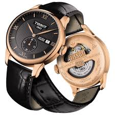buy the men s tissot t006 428 36 058 01 watch francis gaye men 039 s rose pvd le locle automatic petite seconde watch