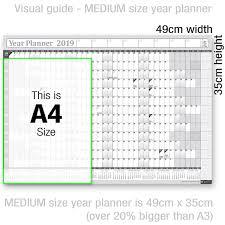 2019 2019 Wall Planner Year Planner Calender Calendar Refills Annual Wall Insert Chart Year Planner Desktop Calendar From Sjw1124282212 19 1