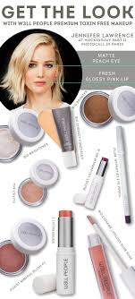 get jennifer lawrence makeup look using all natural beauty s from people the best organic makeup brands at the detox market your experts