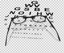 Eye Chart Poster Free Glasses Eye Chart Eye Examination Glasses Png Clipart