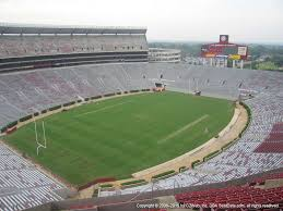 Bryant Denny Stadium View From Section U3 R Vivid Seats