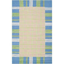 kids taupe blue 4 ft x 6 ft area rug