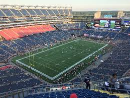 New England Patriots Seating Chart Gillette Stadium Seating Chart Concerts Seating Chart
