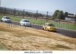 Italian Bicilindriche Cup Fiat Racing Car In Action During
