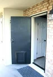 wall mounted doggie door laurels adventures in home repair screen door backyard wall mounted door endura