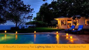 swimming pool lighting design. Unique Lighting Beautiful Swimming Pool Lighting Ideas Intended Design L