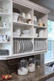 ikea kitchen cabinet glass shelves fresh 65 ideas using open kitchen wall shelves shelterness collection