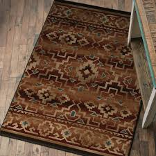 rustic home rug 4 x 5