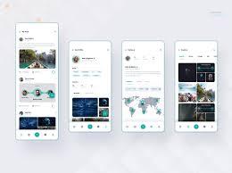 App Design Dribble Social Media App Design Concept 1 By Shahariar Khan On Dribbble