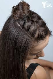 Easy Half Braid Hairstyle Tutorial Video Hairstyle Tutorial