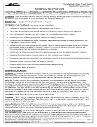 Shipping And Receiving Resume Shipping Clerk Resume Sales Lewesmr Shalomhouseus 9